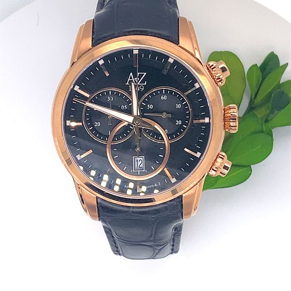 1949 Legacy Collection Mens Rose Gold and Black Watch Andrew Z Diamonds & Fine Jewelry Anthem, AZ