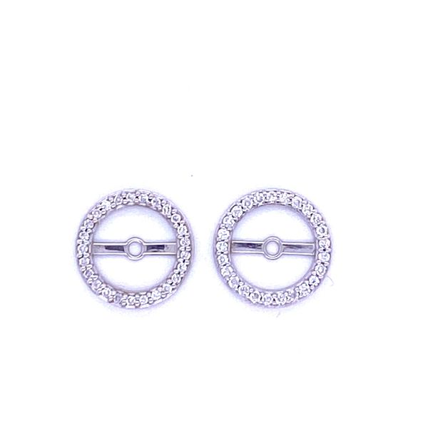 14K White Gold Diamond Earring Jackets Andrew Z Diamonds & Fine Jewelry Anthem, AZ