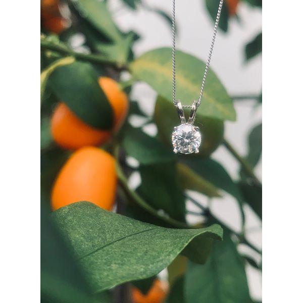 1/2 Carat Diamond Solitaire Necklace Armentor Jewelers New Iberia, LA