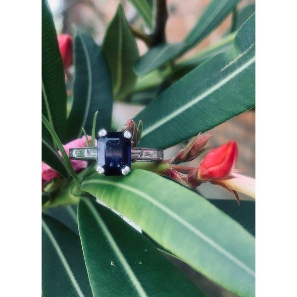 Emerald Cut Sapphire Ring  Armentor Jewelers New Iberia, LA