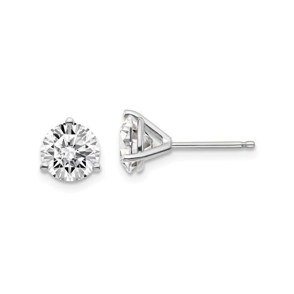 3 CTW Lab Grown Diamond Studs Armentor Jewelers New Iberia, LA