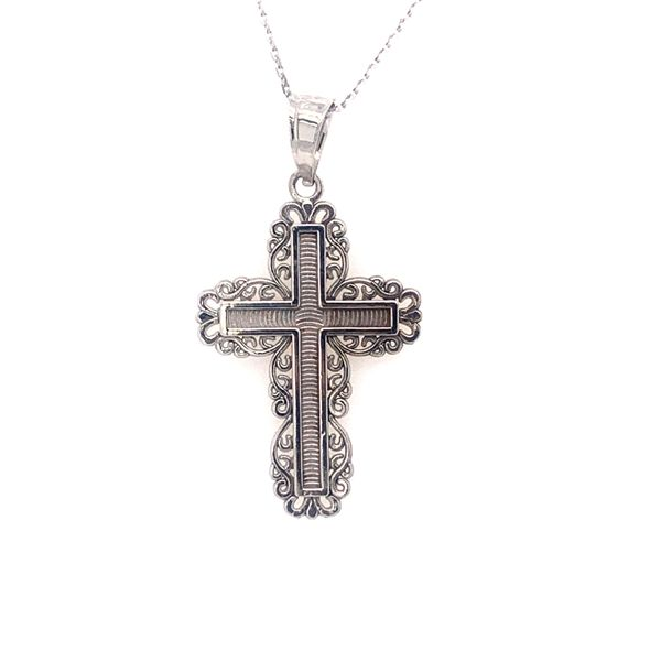 Lace Inspired Cross Armentor Jewelers New Iberia, LA