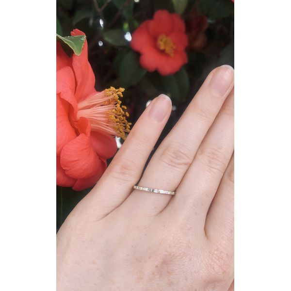 Baguette Diamond Band  Image 3 Armentor Jewelers New Iberia, LA