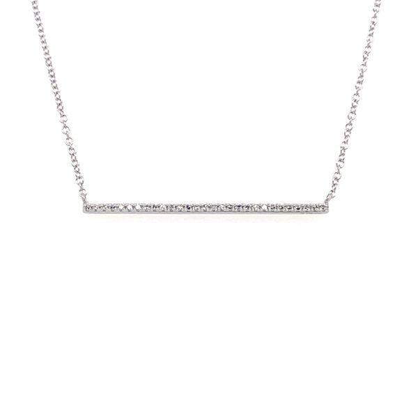 Diamond Bar Necklace Armentor Jewelers New Iberia, LA