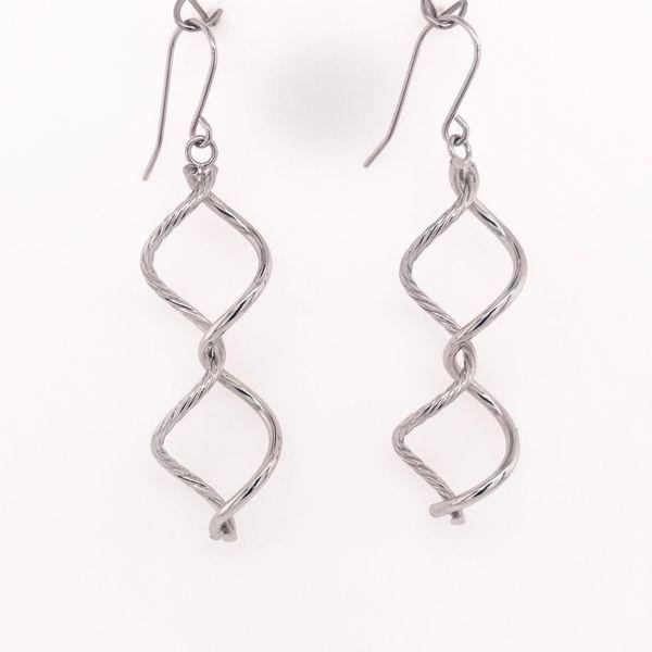 Twist Wire Drop Earrings Arthur's Jewelry Bedford, VA