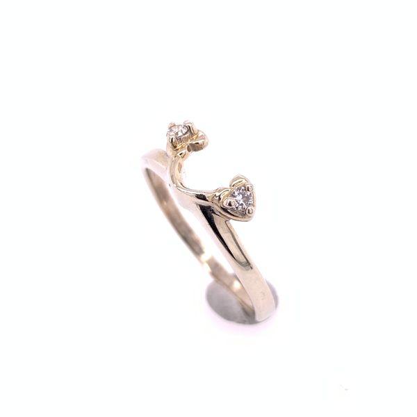 Diamond Heart Wrap Ring Arthur's Jewelry Bedford, VA