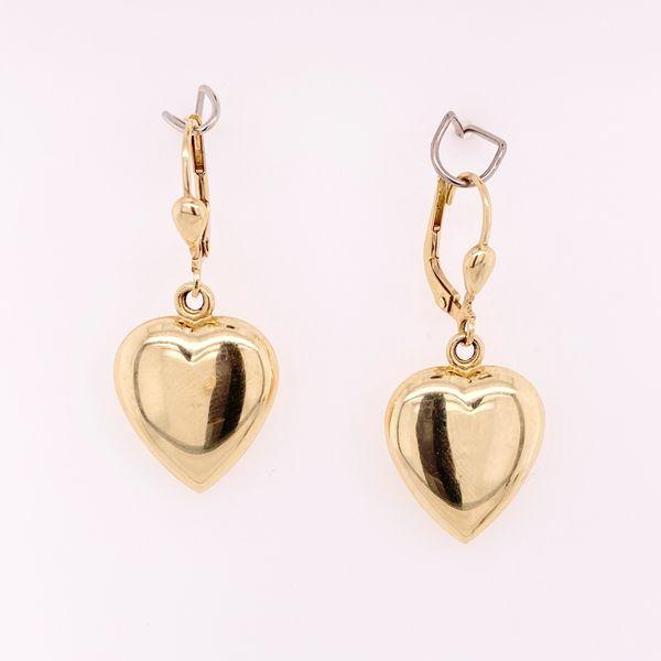 Heart Dangle Earrings Arthur's Jewelry Bedford, VA