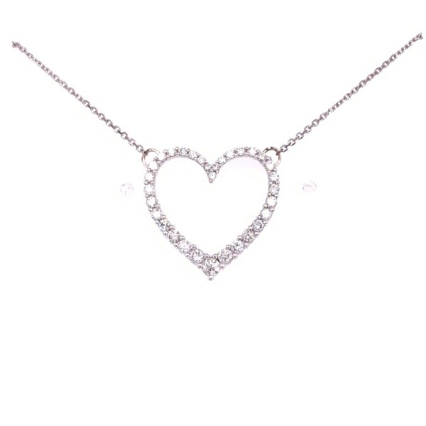 Diamond Heart Necklace Arthur's Jewelry Bedford, VA