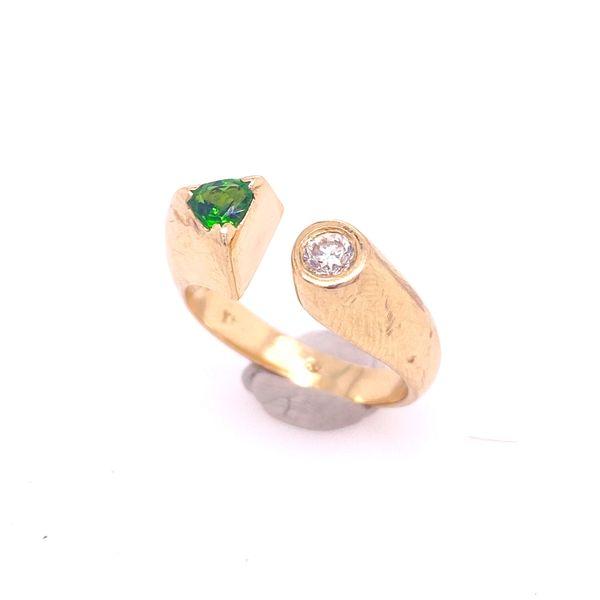 Garnet and Diamond Ring Arthur's Jewelry Bedford, VA
