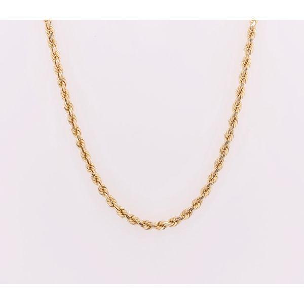 Yellow Gold DC Rope Chain Arthur's Jewelry Bedford, VA