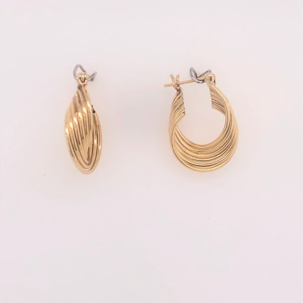 Wire Hoop Earrings Arthur's Jewelry Bedford, VA