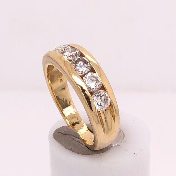 Five Diamond Channel Band Arthur's Jewelry Bedford, VA