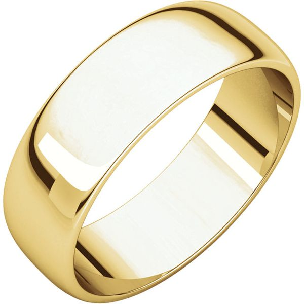 6mm Half Round Light Band Becky Beauchine Kulka Diamonds and Fine Jewelry Okemos, MI