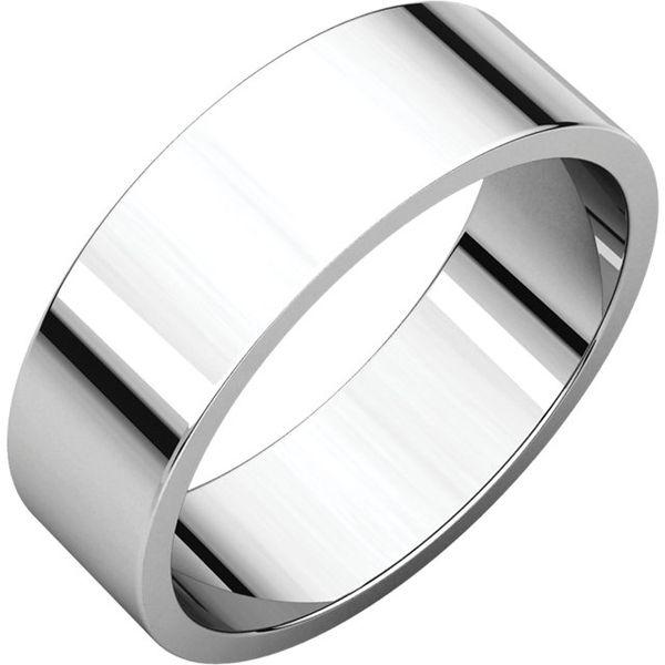 6mm Comfort Fit Flat Band Becky Beauchine Kulka Diamonds and Fine Jewelry Okemos, MI