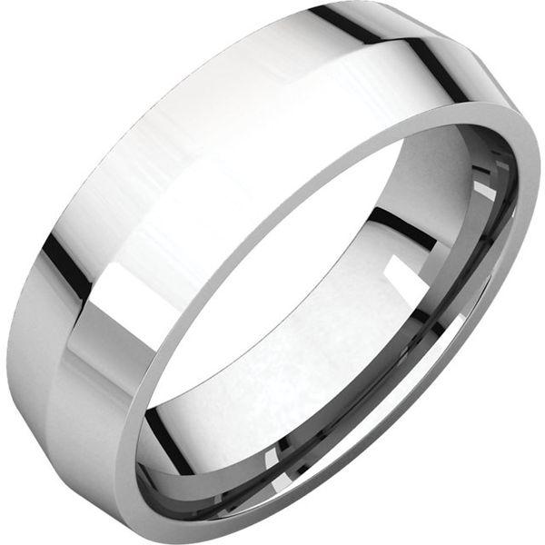 6mm Comfort Fit Knife Edge Band Becky Beauchine Kulka Diamonds & Fine Jewelry Okemos, MI