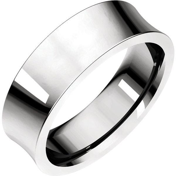 6mm Comfort Fit Concave Band Becky Beauchine Kulka Diamonds and Fine Jewelry Okemos, MI