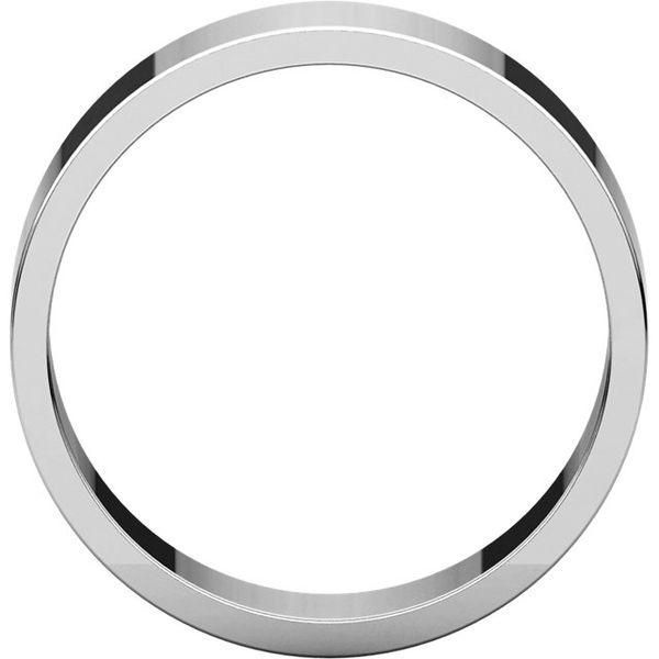 6mm Comfort Fit Flat Band Image 2 Becky Beauchine Kulka Diamonds and Fine Jewelry Okemos, MI