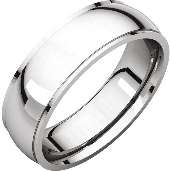 6mm Comfort Fit Edge Band Becky Beauchine Kulka Diamonds and Fine Jewelry Okemos, MI