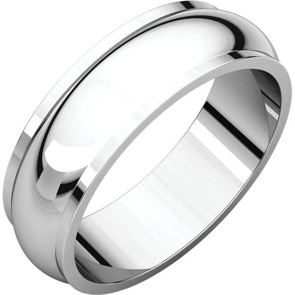 6mm Half Round Edge Band Becky Beauchine Kulka Diamonds and Fine Jewelry Okemos, MI