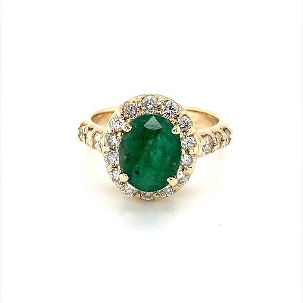 Emerald Ring Blue Water Jewelers Saint Augustine, FL