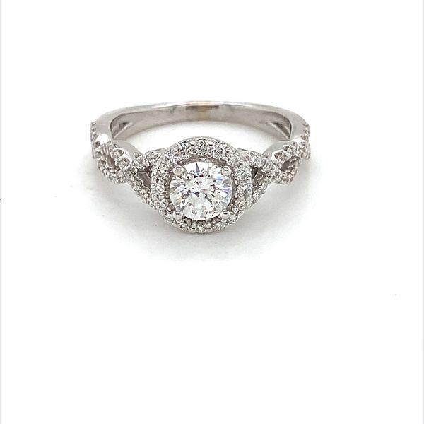 Diamond Engagement Ring Blue Water Jewelers Saint Augustine, FL