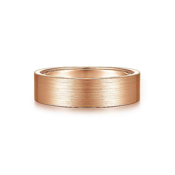 Steven Satin Finish Mens Wedding Band Carter's Jewelry, Inc. Petal, MS