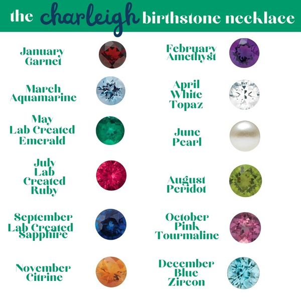 """""""Charleigh"""" Little Girl's Gemstone Necklace Image 2 Carter's Jewelry, Inc. Petal, MS"""