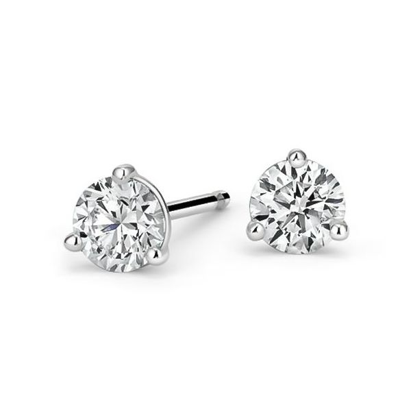 Certified Diamond Stud Earrings Carter's Jewelry, Inc. Petal, MS