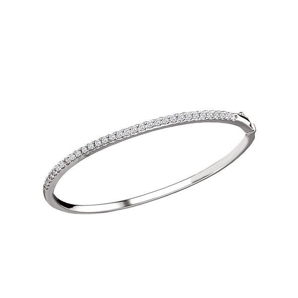Diamond Bangle Bracelet Carter's Jewelry, Inc. Petal, MS