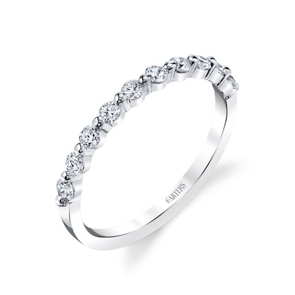 Orchid Shared Prong Diamond Band Carter's Jewelry, Inc. Petal, MS