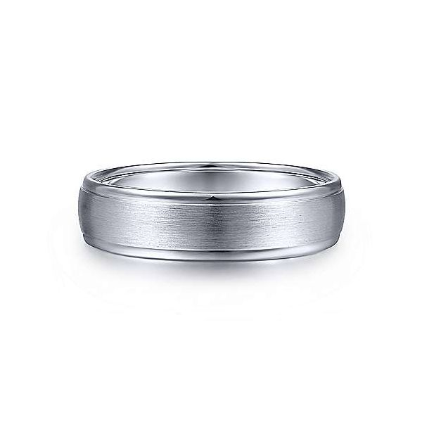 Paul Rounded Satin Polished Edge Mens Wedding Band Carter's Jewelry, Inc. Petal, MS