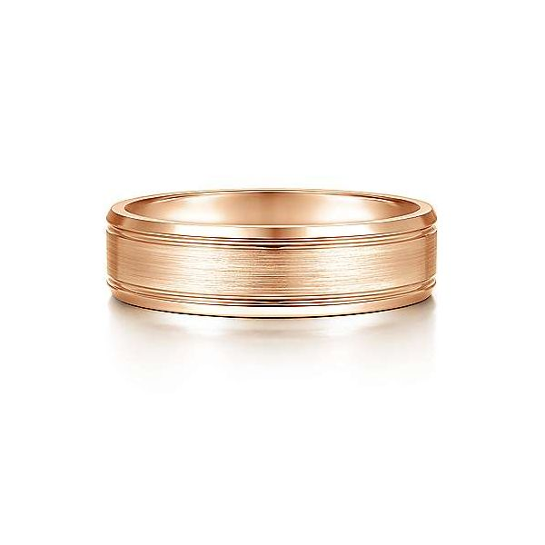 Charles Satin Channel Polished Edge Mens Wedding Band Carter's Jewelry, Inc. Petal, MS