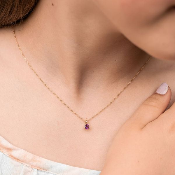 """""""Charleigh"""" Little Girl's Gemstone Necklace Carter's Jewelry, Inc. Petal, MS"""