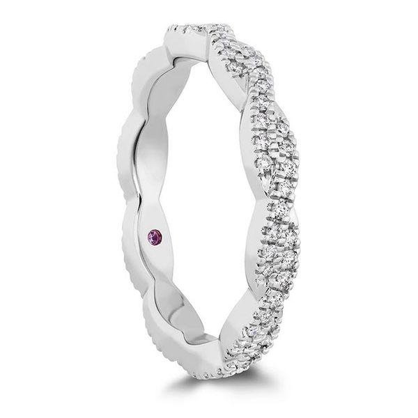 Hayley Paige Go Boldly Braid Diamond Eternity Wedding Ring Skaneateles Jewelry Skaneateles, NY