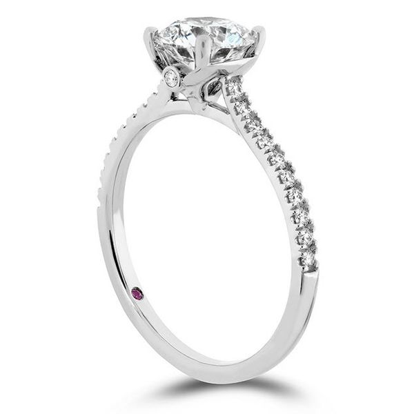 Hayley Paige Hearts On Fire Sloane Silhouette Diamond Semi Mounting Skaneateles Jewelry Skaneateles, NY