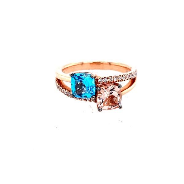 14k Rose Gold Levian Gemstone and Diamond Ring Confer's Jewelers Bellefonte, PA