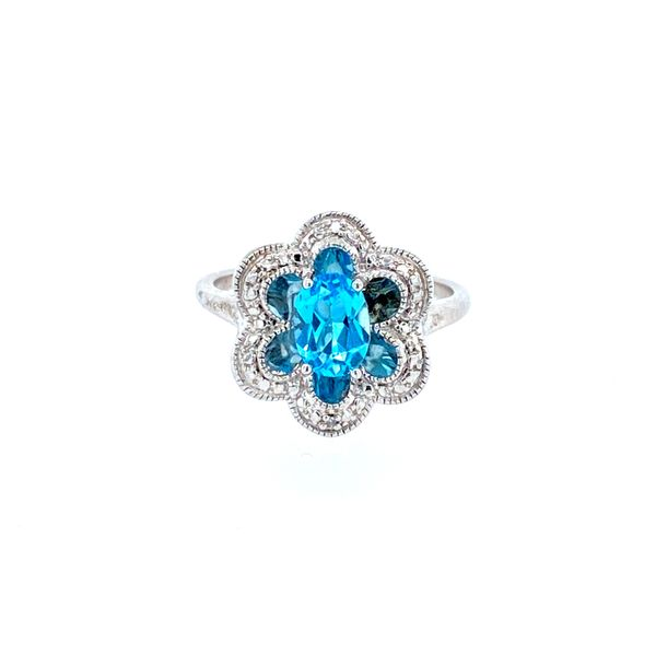 Sterling Silver Blue Topaz Ring Confer's Jewelers Bellefonte, PA