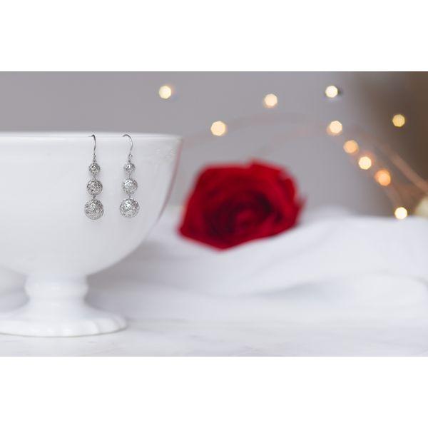 Sterling Silver 3D Ball Earrings Confer's Jewelers Bellefonte, PA