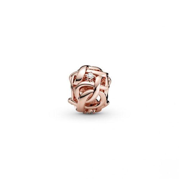 Openwork Woven Infinity Charm - PANDORA Rose Image 2 Confer's Jewelers Bellefonte, PA