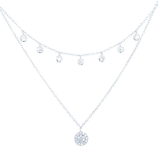 2 Strand Sterling Silver Fashion Necklace Image 2 Confer's Jewelers Bellefonte, PA