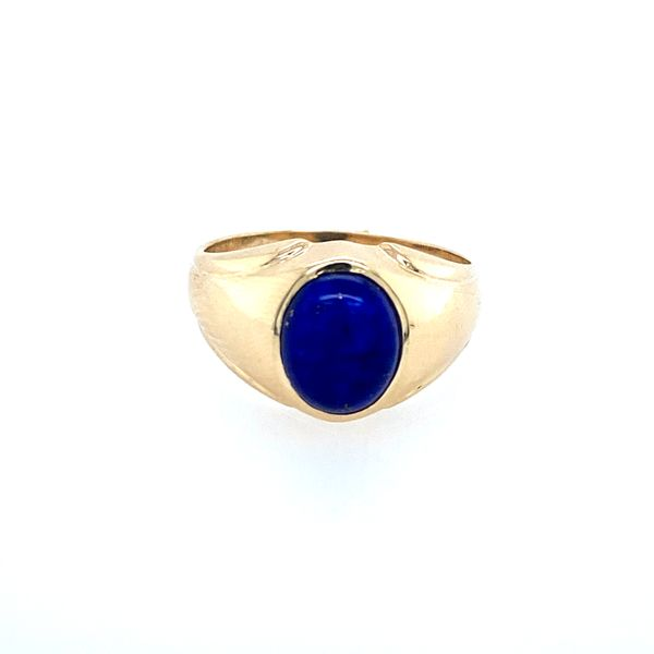 Man's Lapis Ring Confer's Jewelers Bellefonte, PA