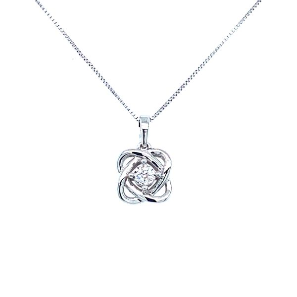 Sterling Silver 'My Love Surronds You' Pendant Confer's Jewelers Bellefonte, PA