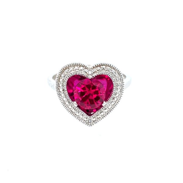 Sterling Silver Created Ruby Ring Confer's Jewelers Bellefonte, PA