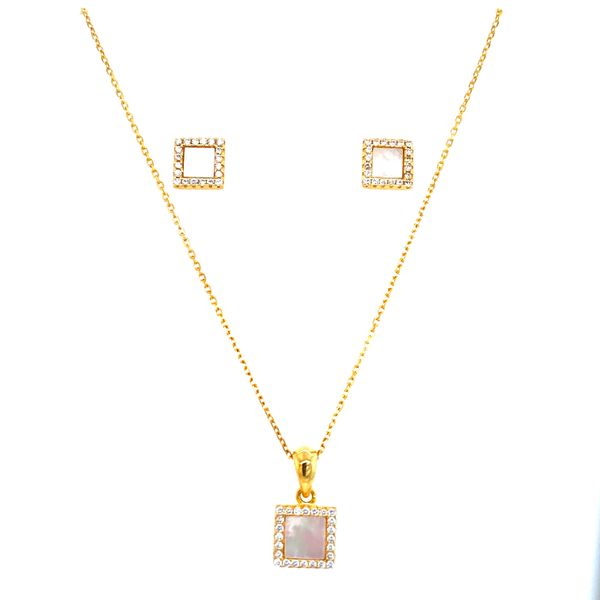 Sterling Silver Pendant and Earring Set Confer's Jewelers Bellefonte, PA