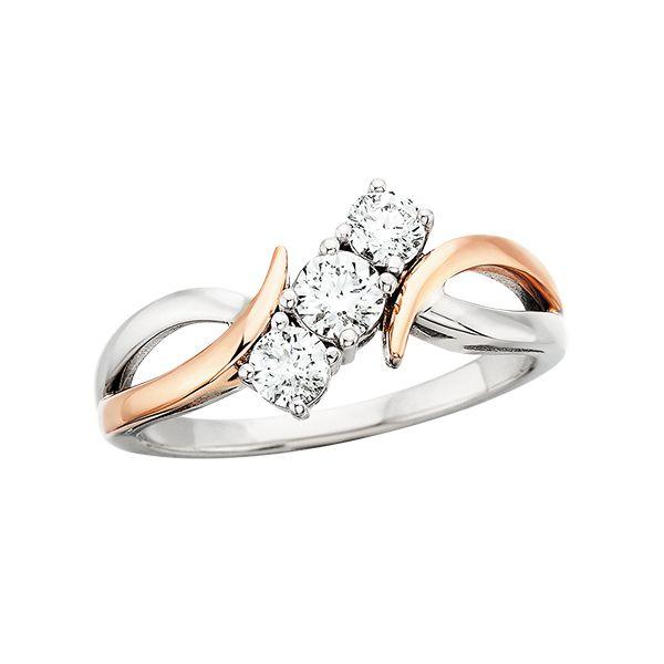 1/2 Carat 3 Stone Diamond Ring Confer's Jewelers Bellefonte, PA
