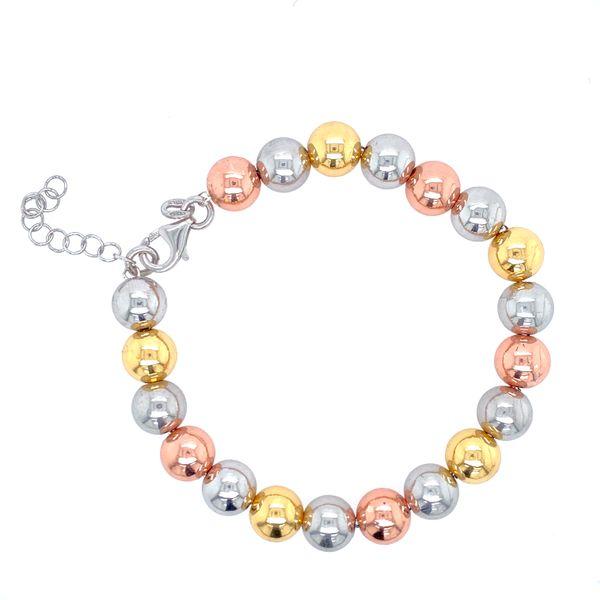 Sterling Silver Tri-Color Bracelet Confer's Jewelers Bellefonte, PA