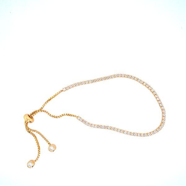 Sterling Silver CZ Bolo Bracelet Confer's Jewelers Bellefonte, PA