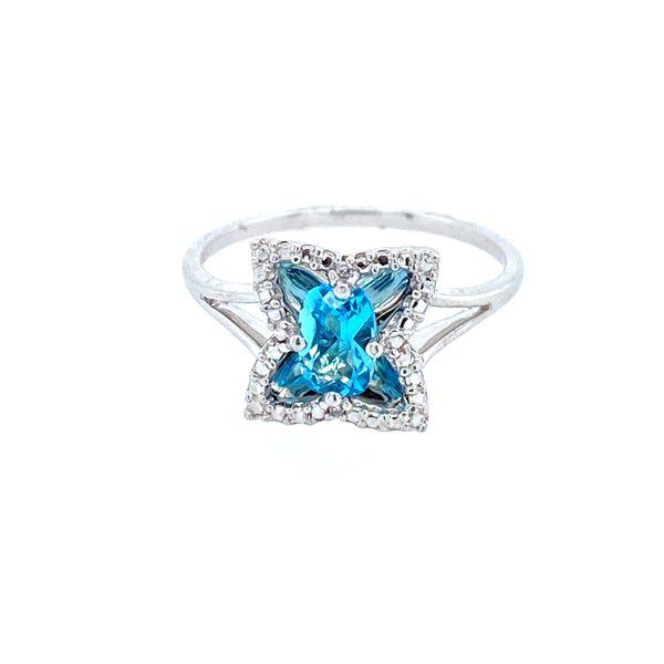 Sterling Silver Blue Topaz Ring Confer's Jewelers Bellefonte, PA