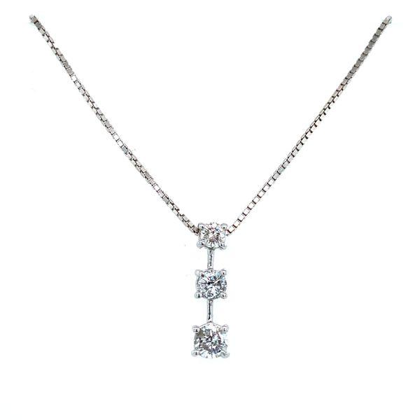 3 Diamond Journey Necklace Confer's Jewelers Bellefonte, PA