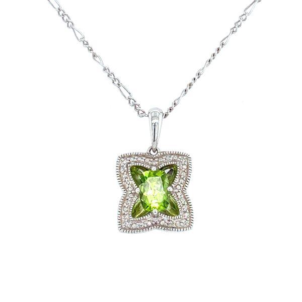 Sterling Silver Peridot Pendant Confer's Jewelers Bellefonte, PA